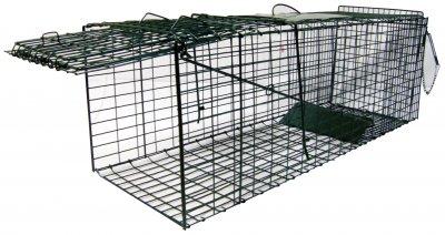 Jaula de captura plegable para gatos