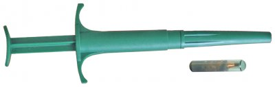 Jeringa con microchip 2x12mm