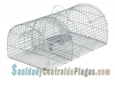 Jaula-trampa para ratas de 41 cm ovalada