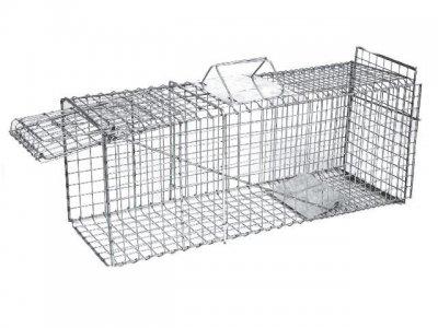 Jaula trampa plegable para gatos tienda de sanidad y - Trampas para cazar ratas ...